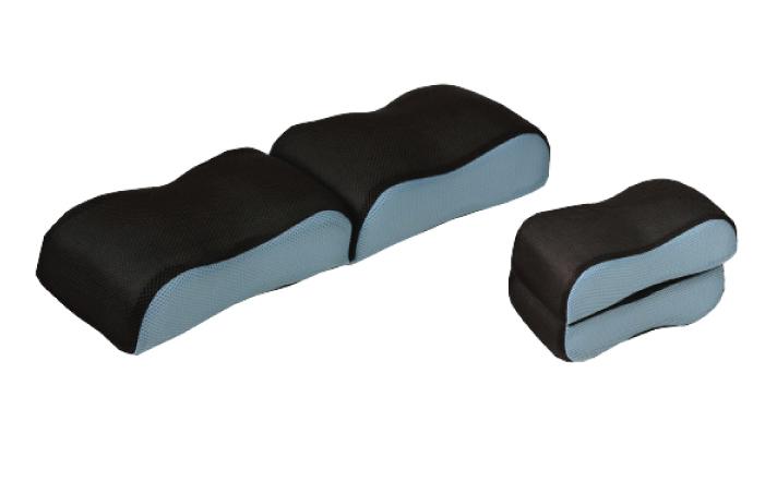 หมอนรองบริเวณช่วงขา B-Balance Foot Pillow Compact ช่วยคลายอาการปวดเมื่อย สีฟ้า