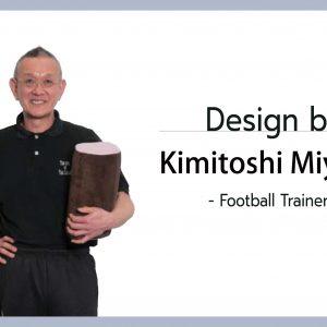 ออกแบบหมอนออกกำลังกายโดย Kimitoshi Miyake ฟุตบอลเทรนเนอร์