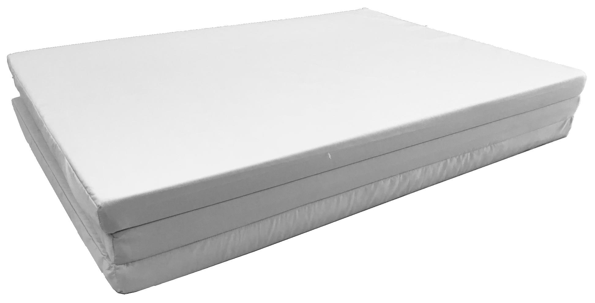 ที่นอนเพื่อสุขภาพ kenko mattress รุ่น flat แบบพับ 3 พับ