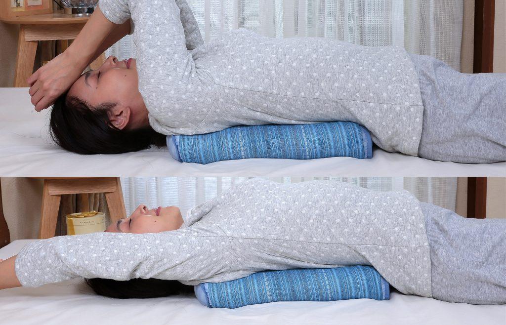 หมอนอเนกประสงค์ Mikawa multi pillow วางรองหลัง คลายอาการปวดเมื่อย