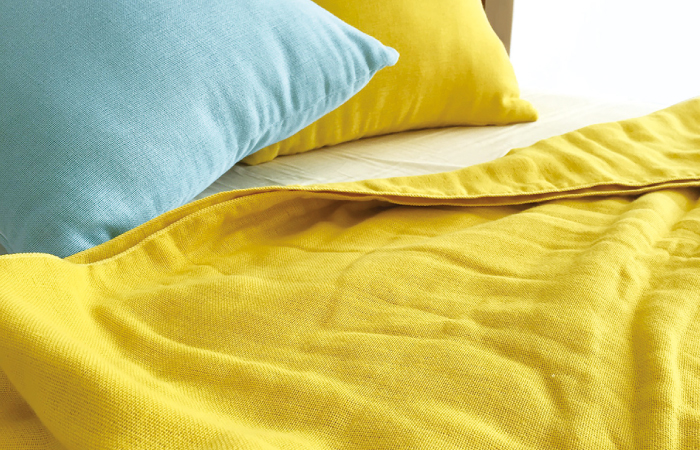 ผ้าห่ม Cumuco สีเหลือง
