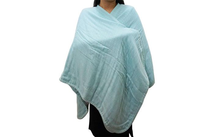 ผ้าคลุมไหล่ cumulira สามารถห่มได้หลายแบบ