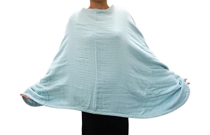 ผ้าคลุมไหล่ cumurila สามารถห่มได้หลายแบบ