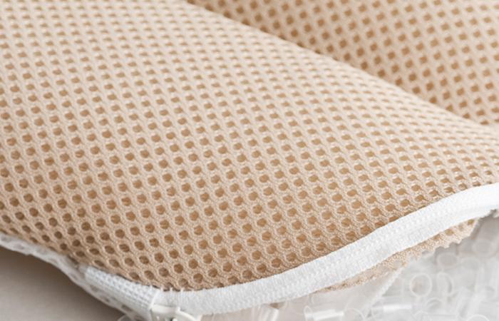 เนื้อผ้า 3D pillow plus ช่วยในการระบายอากาศ ไม่กักเก็บความชื้น