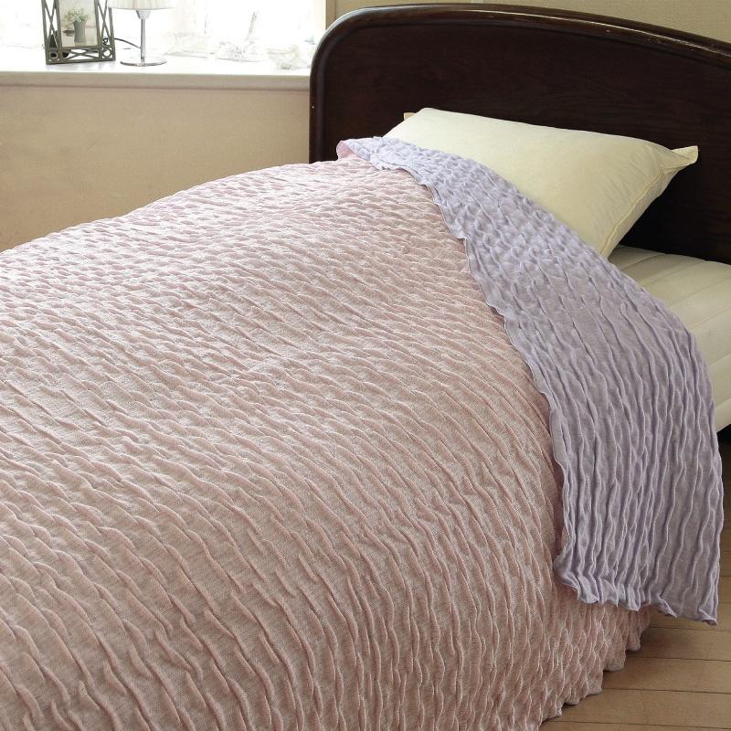 ผ้าห่ม pink-purple ระบายอากาศได้ดี ห่มแล้วไม่ร้อน