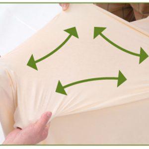 ผ้าปูที่นอน Superfit มีความยืดหยุ่นสูง ปูแล้วตึง ไม่หย่อนคล้อย