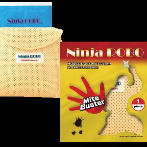 แผ่นดักจับไรฝุ่น ninja robo starter kit