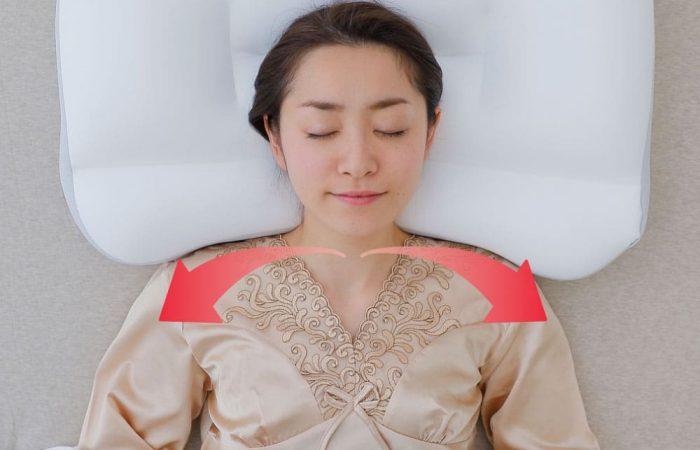 หมอนสุขภาพ super king pillow-โอบรับไหล่