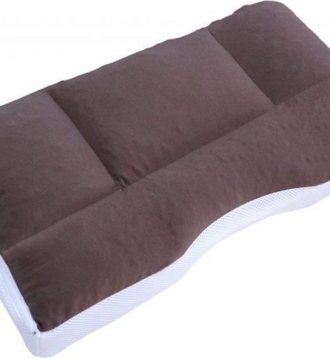 หมอนสุขภาพจากญี่ปุ่น Super fit 4 zone pillow แบ่งออกเป็น 4 ส่วน